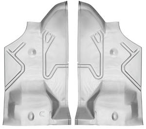 1973-77 Grand Prix Trunk Pan, Steel (Sections) Middle Section