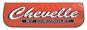 1964-1977 Chevelle Fender Cover, Custom Chevelle, by RESTOPARTS