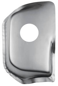 1964-67 Chevelle Tunnel Plate, Steel w/o Console