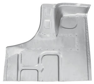 1964-67 Cutlass Trunk Floor Sections (Partial)