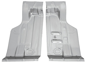 1973-1973 GTO Trunk Pan, Steel (Sections) Center