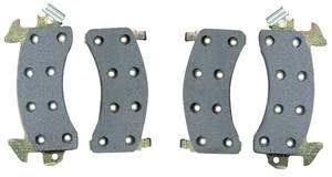 1978-88 Malibu Brake Pads/Shoes, Standard Front Disc