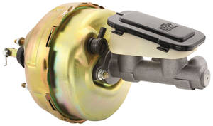 1978-1988 Monte Carlo Brake Booster & Master Cylinder (Power Brake) Dual Diaphragm, by CPP
