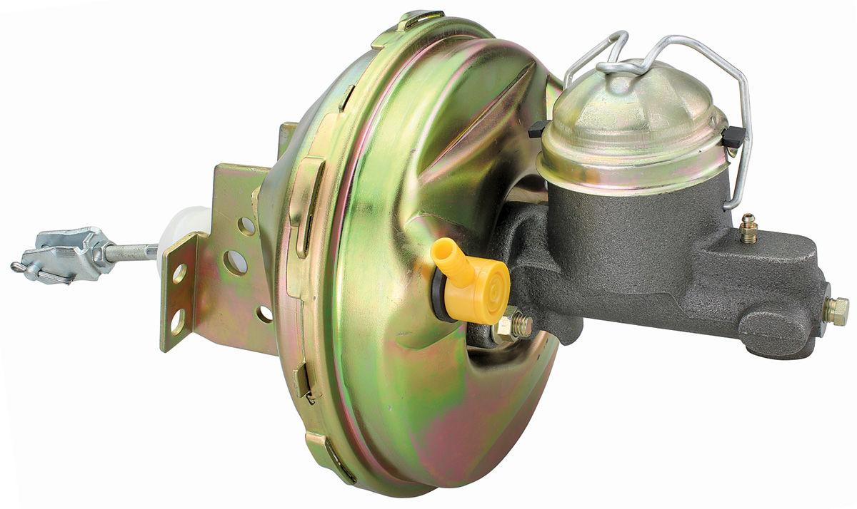 "Photo of Cutlass/442 Booster w/Drum Brake Master Cylinder, Power Brake 9"""