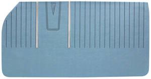 Door Panels, 1961 Bonneville Standard Front