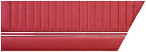 Door Panels, 1966 Bonneville Standard Rear, Coupe
