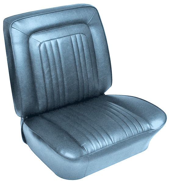 Photo of Seat Upholstery, 1963 Bonneville buckets
