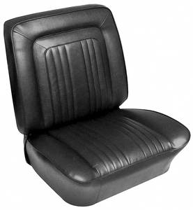 1963-1963 Bonneville Seat Upholstery, 1963 Bonneville Bucket w/Convertible Rear, by PUI