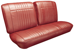 1966-1966 Bonneville Seat Upholstery, 1966 Bonneville Split Bench, by PUI