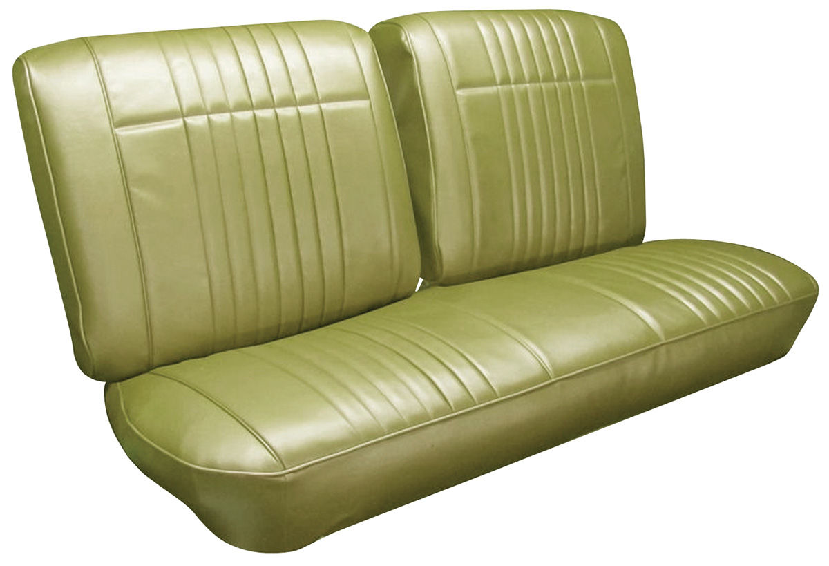 Photo of Seat Upholstery, 1966 Bonneville buckets w/convertible rear (w/o armrest)
