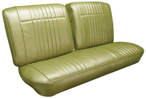 1966-1966 Bonneville Seat Upholstery, 1966 Bonneville Split Bench w/Coupe Rear (w/Armrest), by PUI