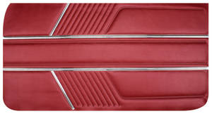 1966-1966 Catalina Door Panels, 1966 Catalina 2+2 Standard Front, by PUI