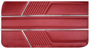 Door Panels, 1966 Catalina 2+2 Standard Front