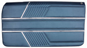 1966-1966 Catalina Door Panels, 1966 Catalina 2+2 Assembled Front, by PUI