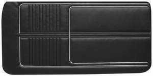 1967-1967 Catalina Door Panels, 1967 Catalina 2+2 Standard Front, by PUI