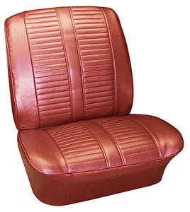 Seat Upholstery, 1965 Catalina 2+2 Buckets w/Coupe Rear, by PUI