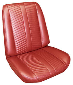 Seat Upholstery, 1966 Catalina 2+2 Buckets w/Convertible Rear