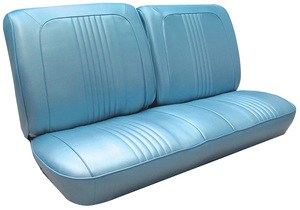 1967-1967 Catalina Seat Upholstery, 1967 Catalina Split Bench (w/o Armrest), by PUI