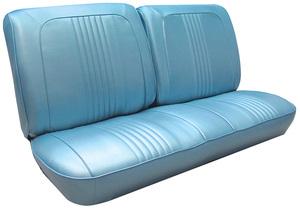 Seat Upholstery, 1967 Catalina Split Bench (w/o Armrest)
