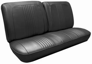 Seat Upholstery, 1967 Catalina Rear Seat, Convertible