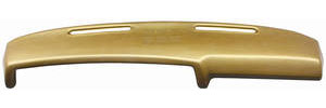 1970-72 Monte Carlo Dash Pad, Foam Molded (with Mono Speakers; Includes Clips)