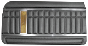 1970-1970 Bonneville Door Panels, 1970 Parisienne Standard Front, by PUI