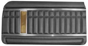 1970-1970 Grand Prix Door Panels, 1970 Parisienne Standard Rear, Convertible, by PUI