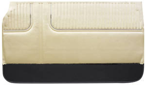 1967-1967 Catalina Door Panels, 1967 Bonneville & Parisienne 2+2 Standard Front, by PUI
