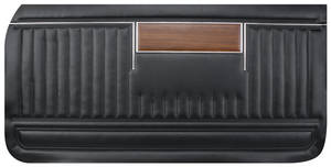 Door Panels, 1969 Parisienne Standard Front