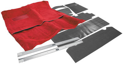 1964-67 Chevelle Carpet Kit, Complete Premium Essex 2-dr., 4-Speed - (2-Pieces)