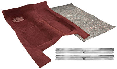 1978-1988 El Camino Carpet Kit, Complete Cut Pile (1-Piece)