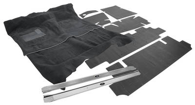 1968-1972 Cutlass/442 Carpet Kit, Complete Premium Essex Automatic (2-Pieces)