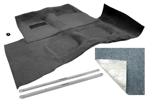 1959-60 Cadillac Carpet Kit, Complete Original Raylon 2-Door, Loop (2-Pieces)