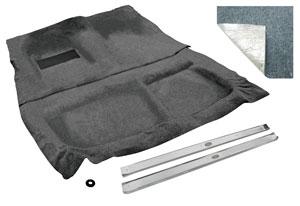 1961-64 Cadillac Carpet Kit, Complete Original Raylon 2-Door, Loop (2-Pieces)