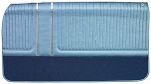 Door Panels, 1965 Bonneville, Grand Prix & Parisienne Assembled Front, by PUI