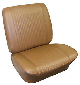 Seat Upholstery, 1962 Grand Prix Rear Seat, Coupe (w/Armrest)