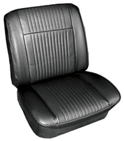 Seat Upholstery, 1965 Grand Prix Buckets