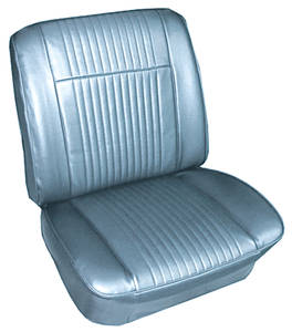 1965-1965 Grand Prix Seat Upholstery, 1965 Parisienne Custom Sport Rear Seat, Convertible, by PUI