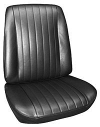 1967-1967 Grand Prix Seat Upholstery, 1967 Grand Prix Buckets, by PUI