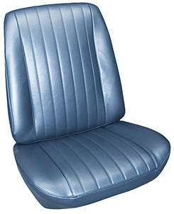 Seat Upholstery, 1967 Grand Prix Buckets w/Convertible Rear