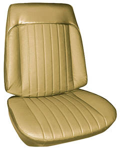 1968-1968 Grand Prix Seat Upholstery, 1968 Grand Prix Buckets, by PUI