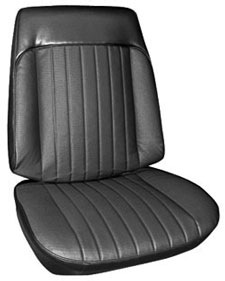 1969-1969 Grand Prix Seat Upholstery, 1969 Grand Prix Buckets, by PUI