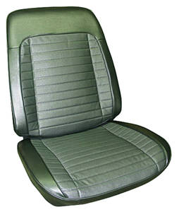 Seat Upholstery, 1970 Grand Prix Rear Seat, Coupe
