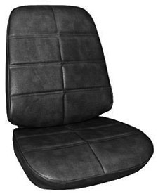 1971-1971 Grand Prix Seat Upholstery, 1971 Grand Prix Buckets, by PUI