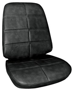 Seat Upholstery, 1972 Grand Prix Buckets