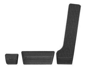 1964-67 Chevelle Pedal Pad Kits, Complete Automatic w/Drum (3)