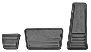 1978-88 Monte Carlo Pedal Pad Kit (Complete) Automatic Transmission, by RESTOPARTS