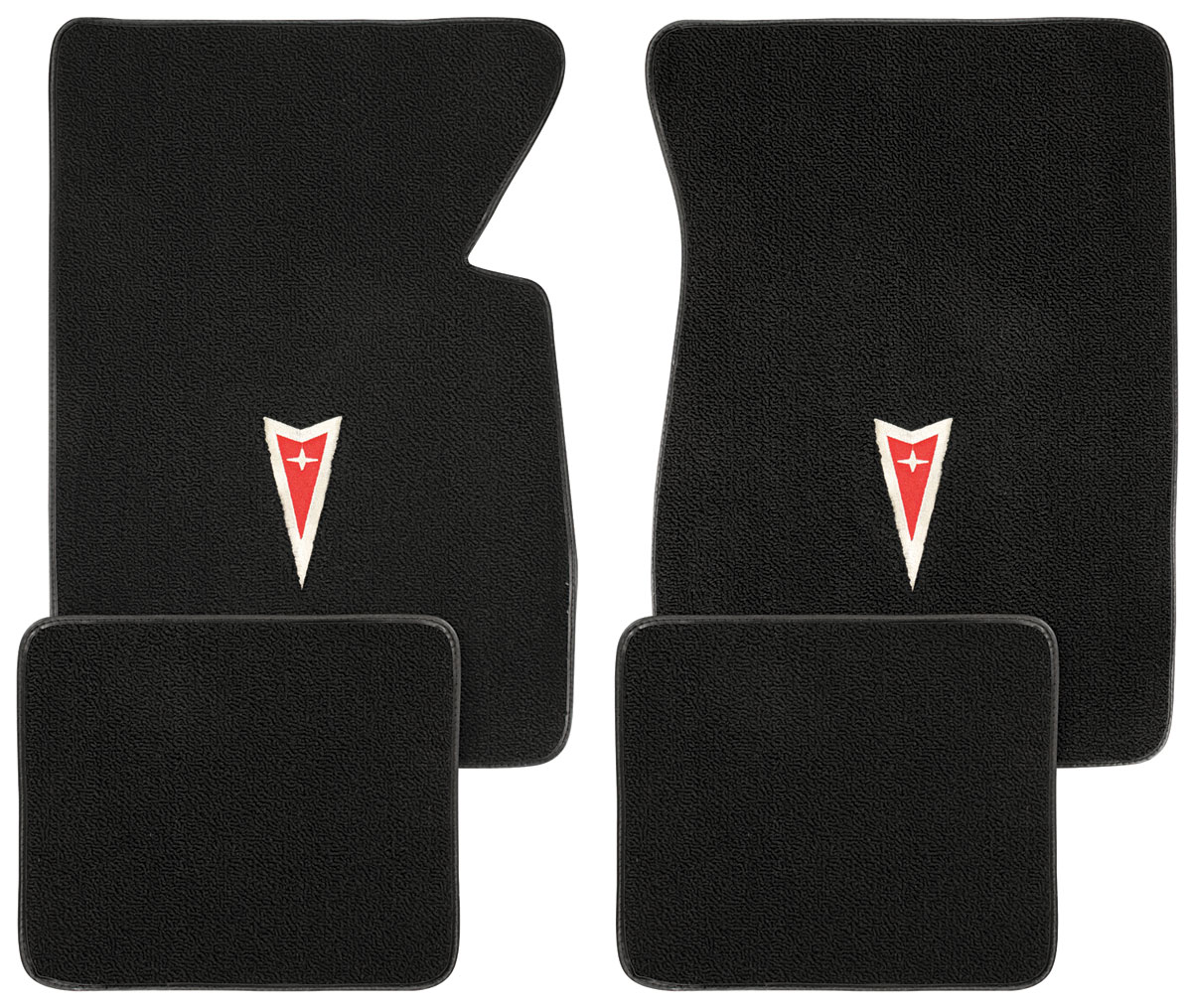 Photo of Floor Mats, Carpet Matched Oem Style Carpet Arrowhead logo, Grand Prix