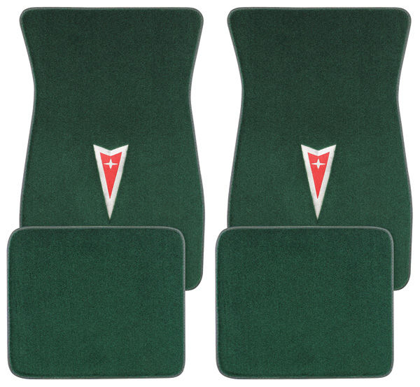 Acc 1961 73 Gto Floor Mats Carpet Matched Oem Style