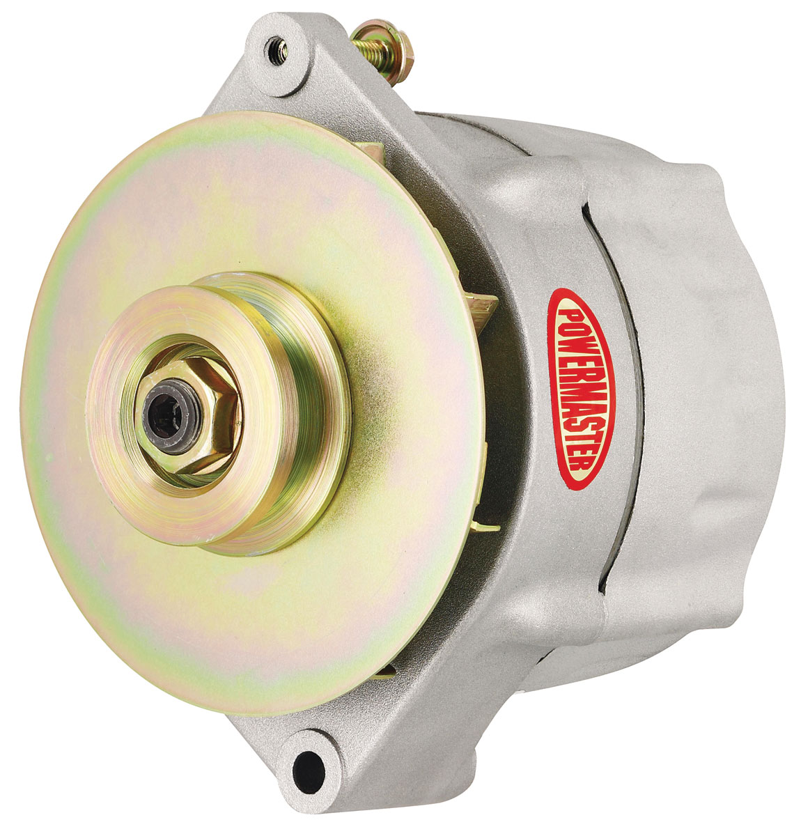 Photo of Alternator (Smooth Look) 1-Groove Pulley (Natural Finish, 100-AMP)